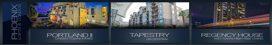 condos & lofts for sale Downtown Phoenix