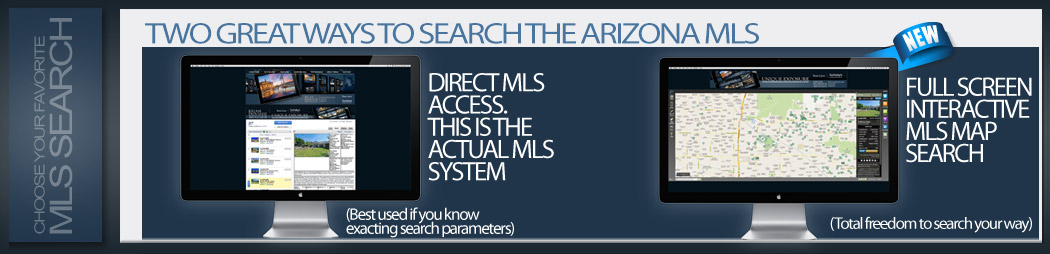 two ways to search the arizona mls